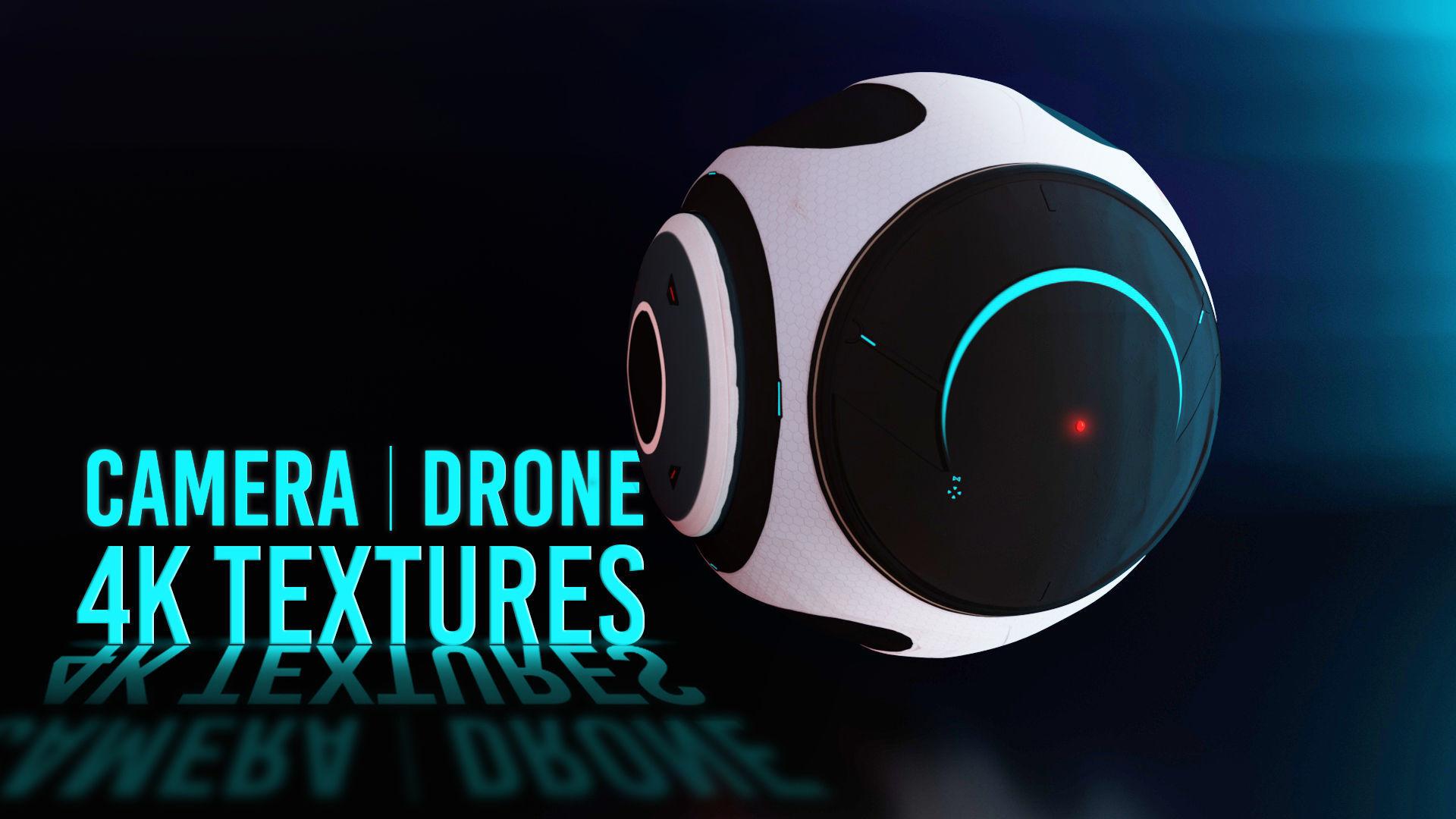 Scifi Camera Drone
