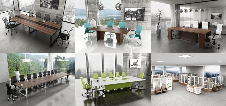 6 Office Interior Pack Collection