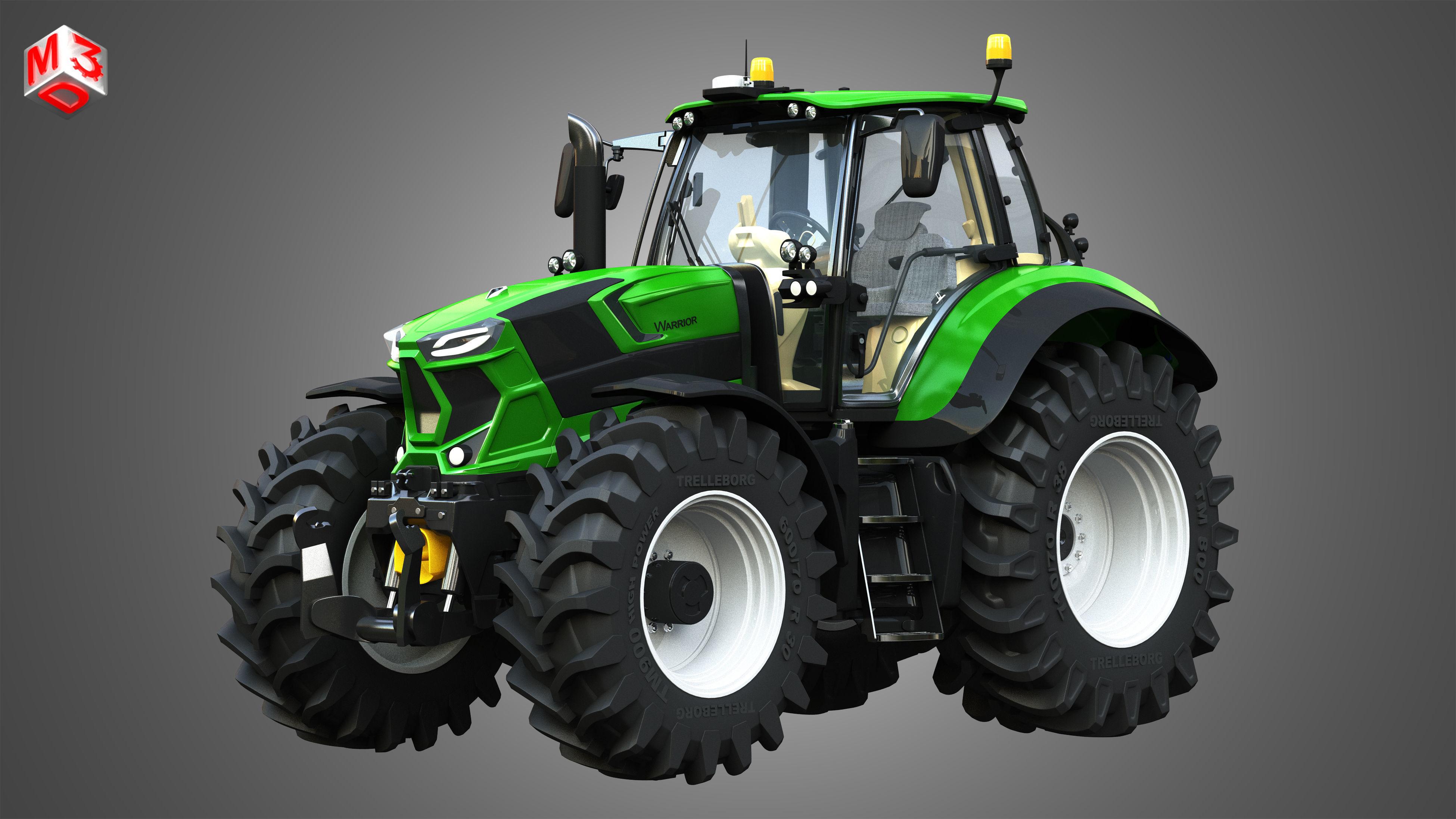 Deutz - Fahr 7 Series - 8280 TTV Tractor