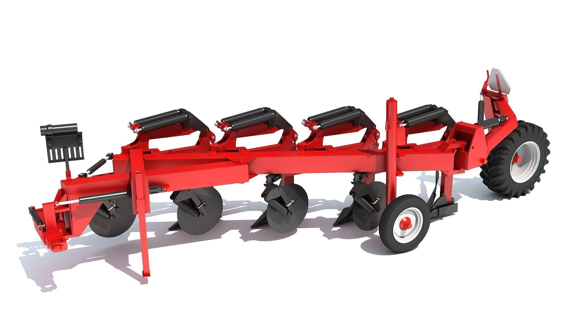 Semi Mounted Plow
