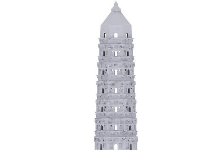 printable tower building structure