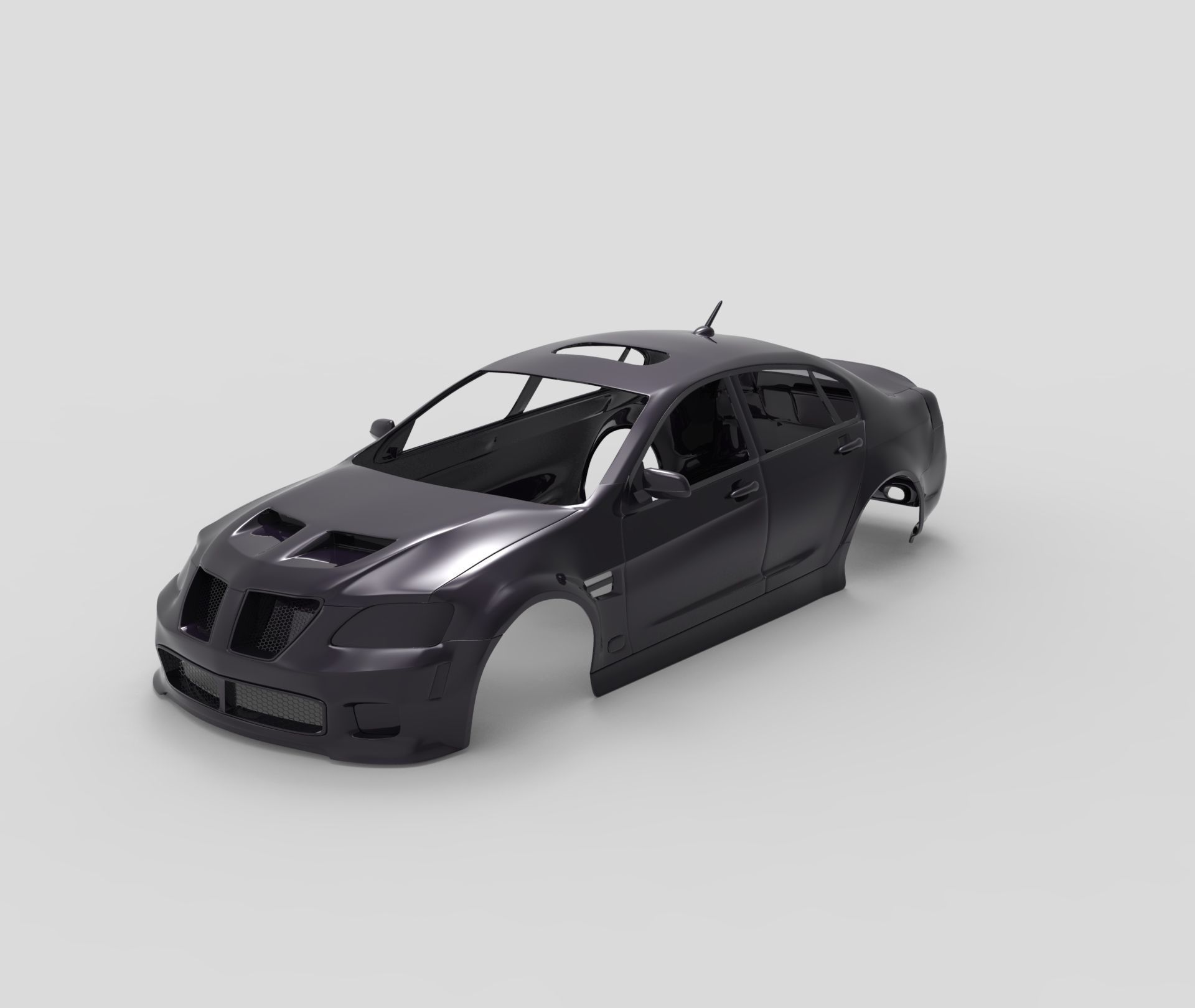Pontiac G8 GXP 2009 RC body shell