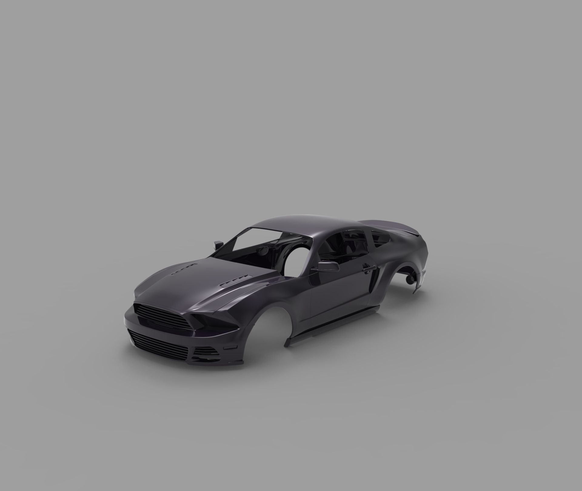ford mustang 2014 RC body shell