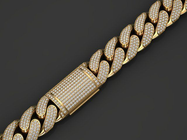 13 MM MIAMI CUBAN LINK CHAIN FOR BRACELET OR NECKLACE