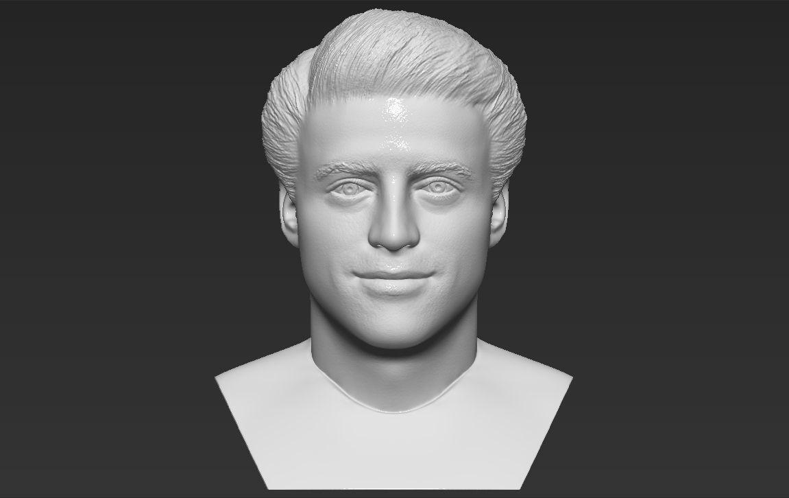 Joey Tribbiani from Friends bust 3D printing ready stl obj