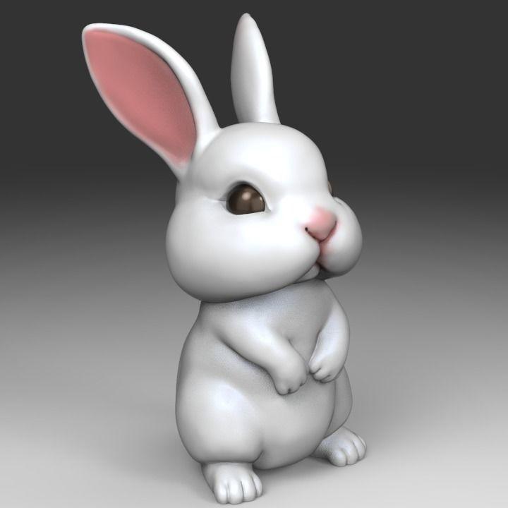 Cute Rabbit STL