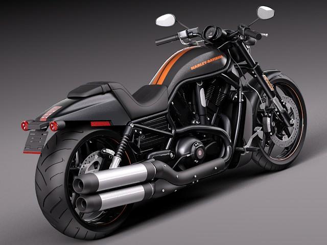 Harley Davidson V Rod Night Rod Special 2013 3d Model Max