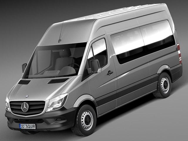 Mercedes-Benz Sprinter Passenger Van 20143D model