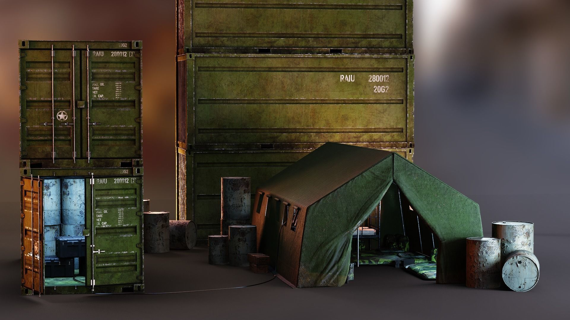 Military Essential Collection PBR