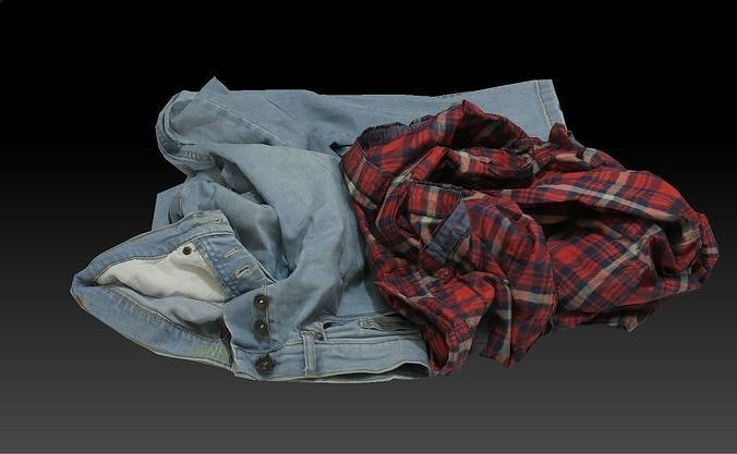Pile of Cloths 1