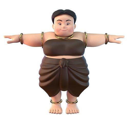 Fat Woman Villager