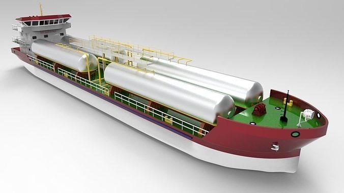 LPG Carrier Vessel