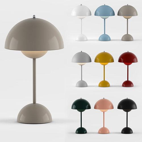 Flowerpot VP9 Verner Panton 1968 - Portable table lamp
