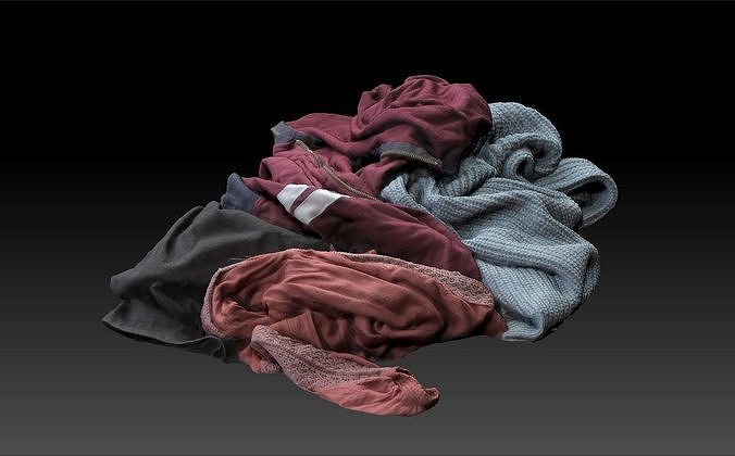 Pile of Cloths 4