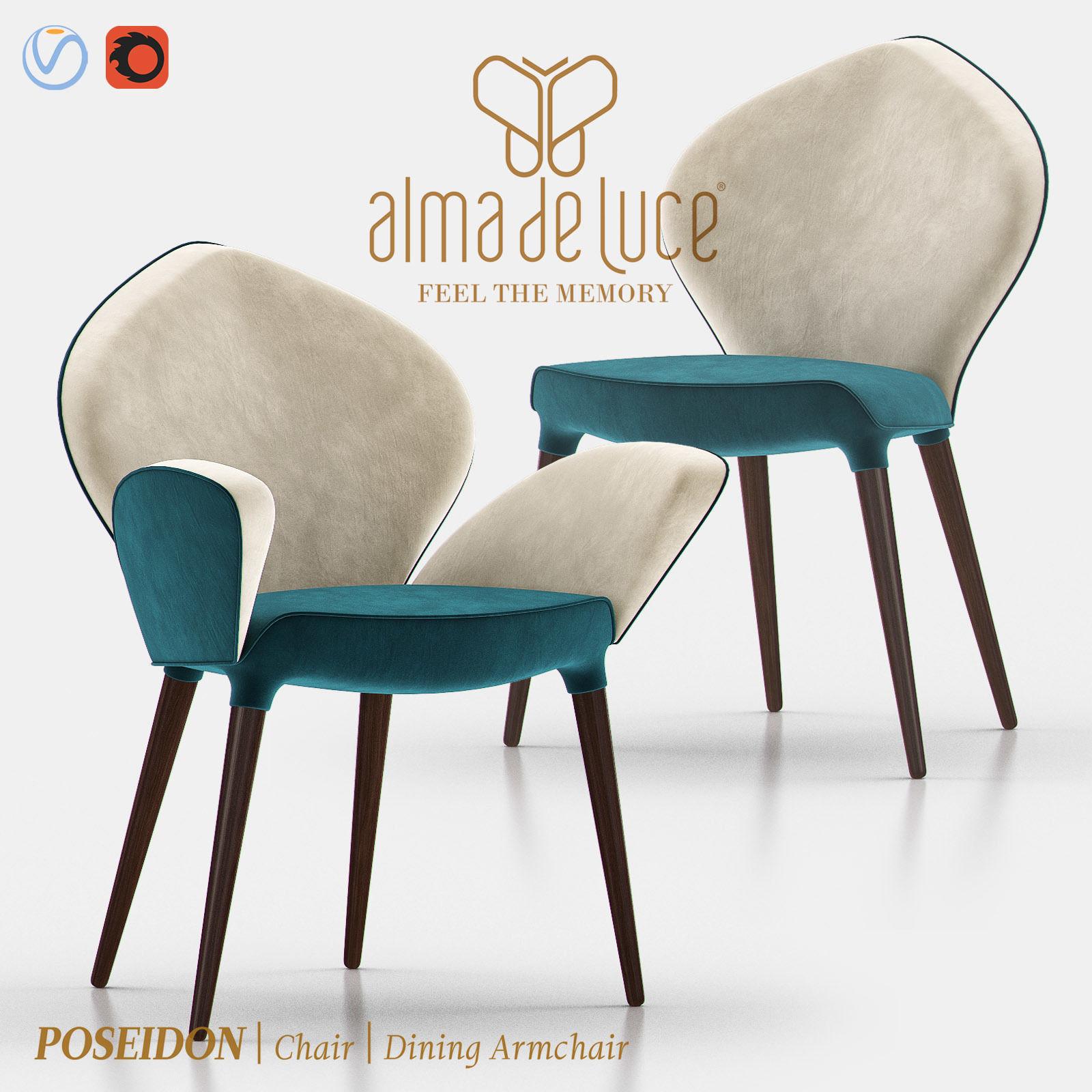 Poseidon Chair and Dining Armchair
