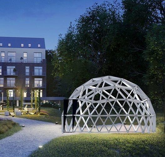Cupolas Dome 3D model
