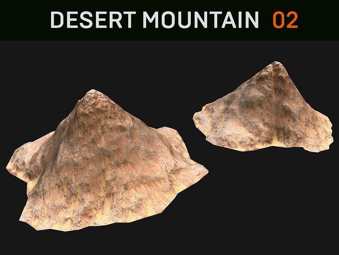 Background Desert Mountain - 02