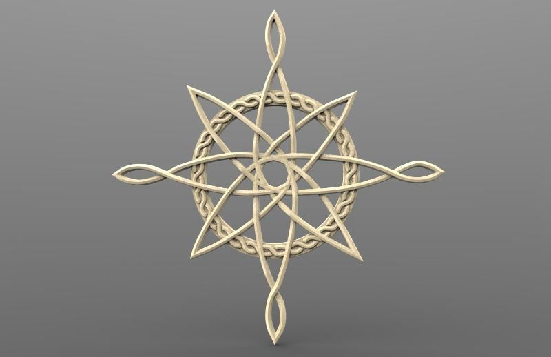 Celtic north star CNC