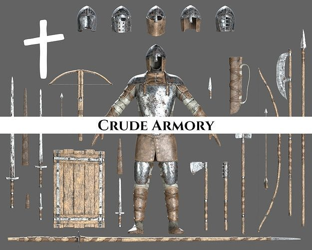 Medieval Crude Armory