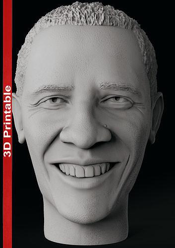 Barack Obama Head