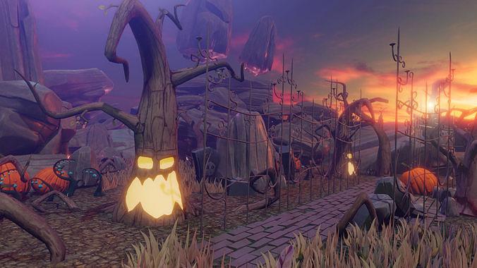 Halloween Assets Games