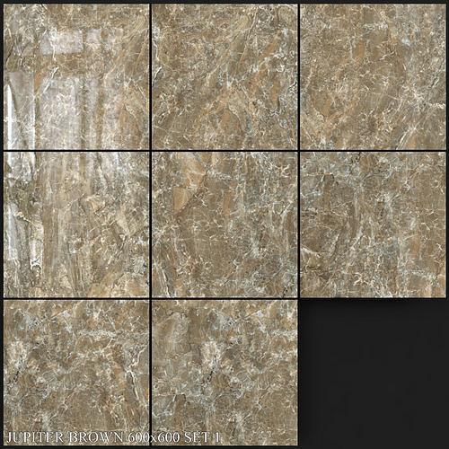 Yurtbay Seramik Jupiter Brown 600x600 Set 1