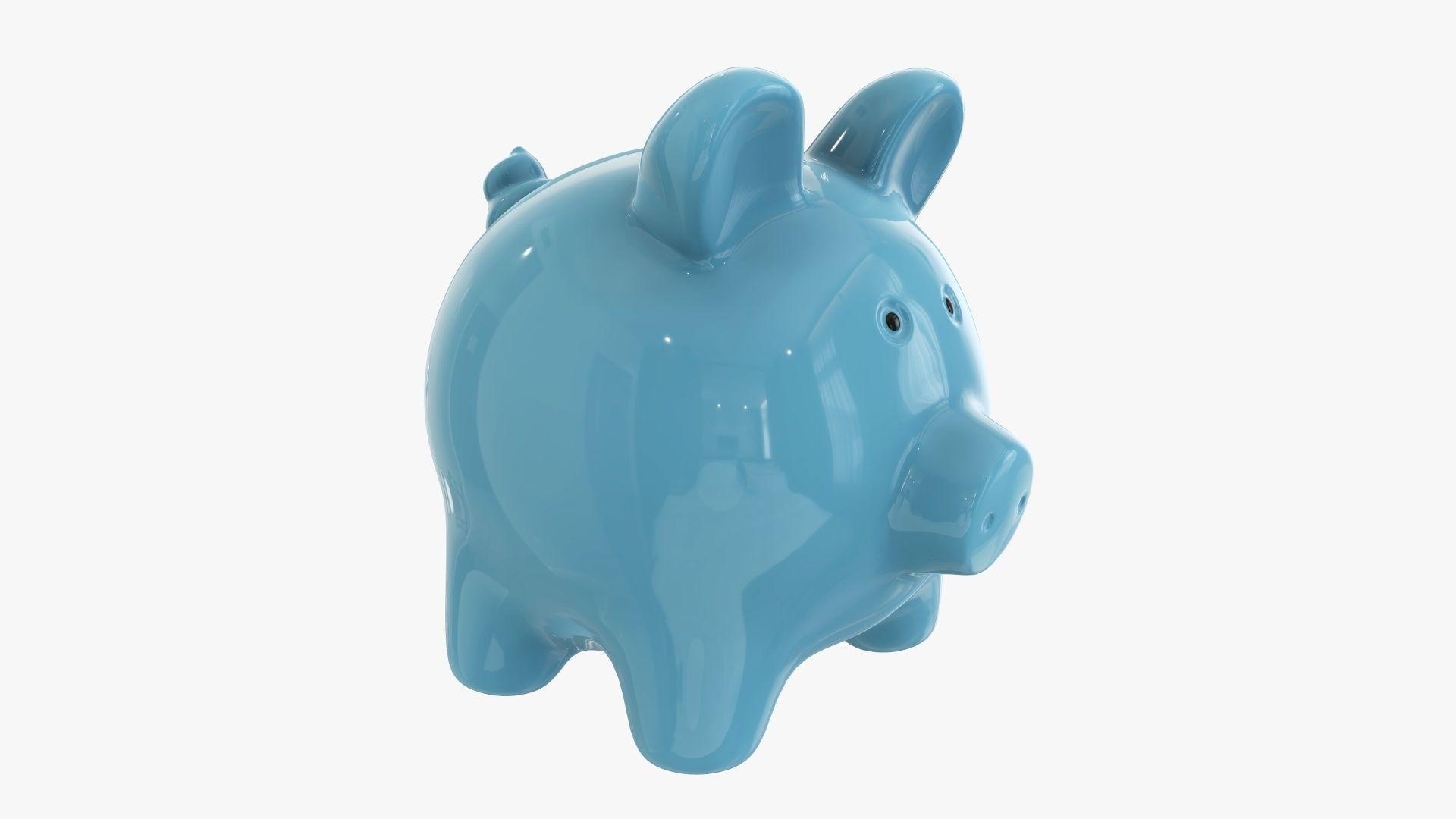 Piggy money bank ceramic