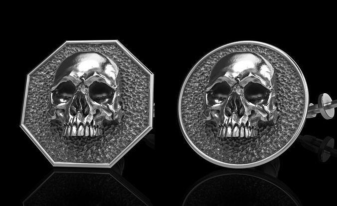 skull cufflinks 2