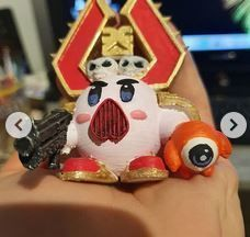 Kirby as Chaos Space Soldier