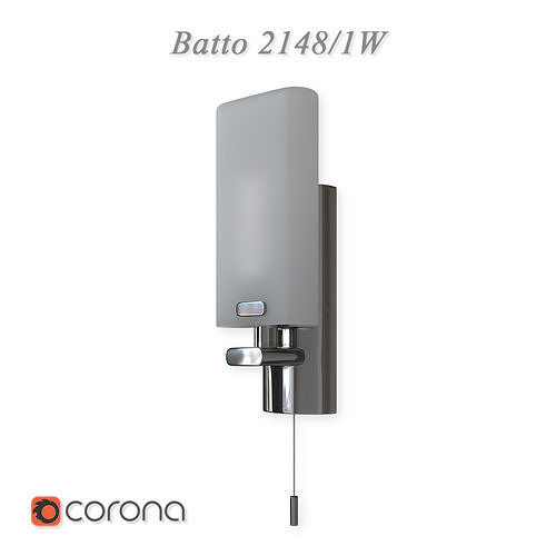 Wall lamp with switch waterproof Batto 2148 - 1W