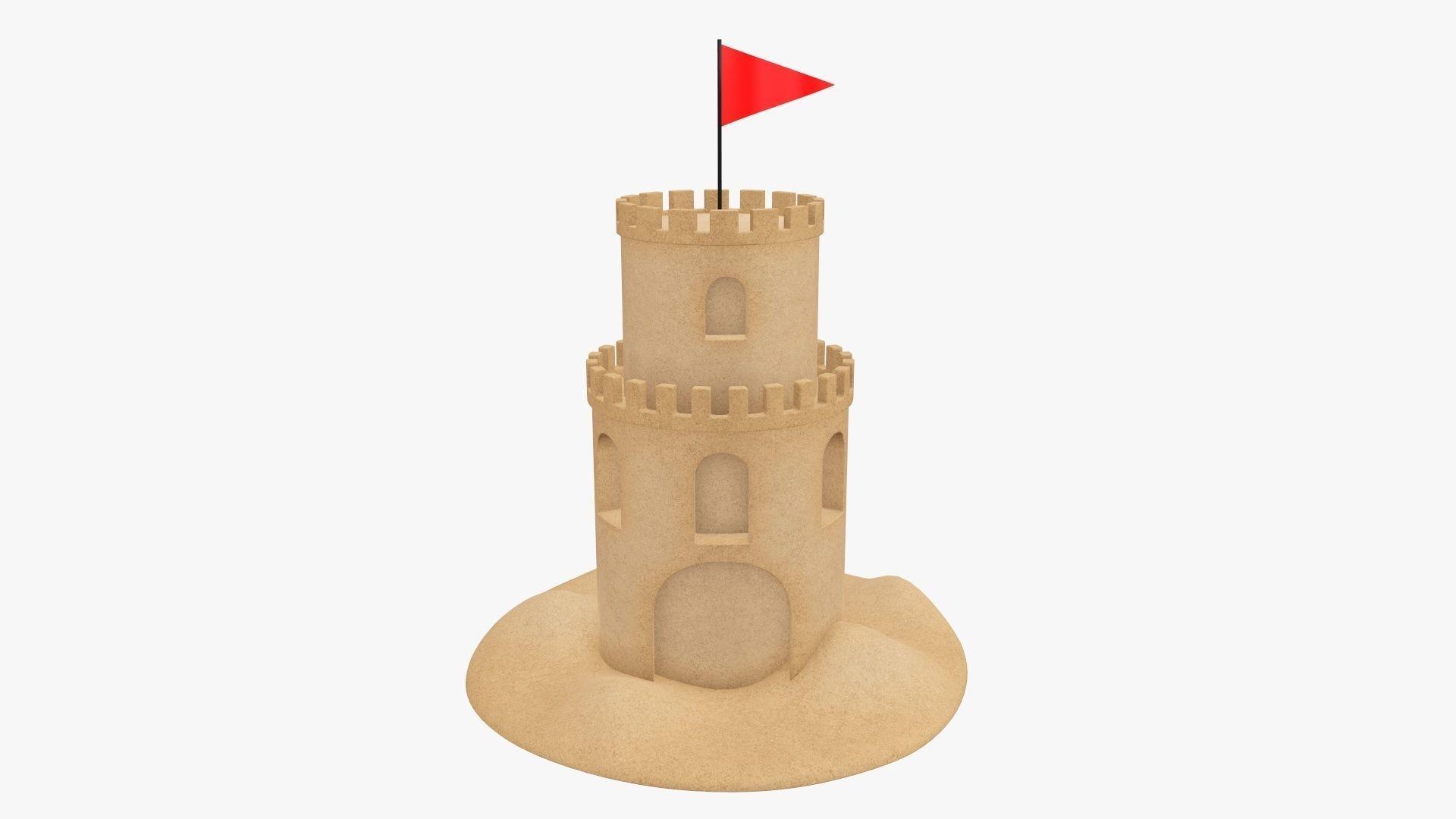 Sand castle 02