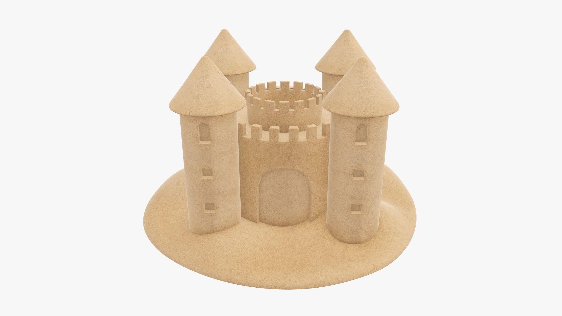 Sand castle 05