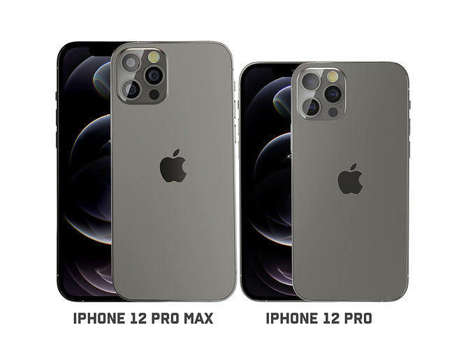 iPhone 12 pro and iPhone 12pro max