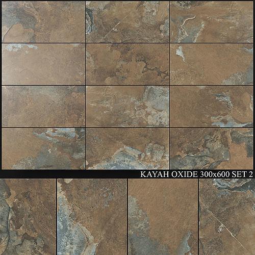 Yurtbay Seramik Kayah Oxide 300x600 Set 2