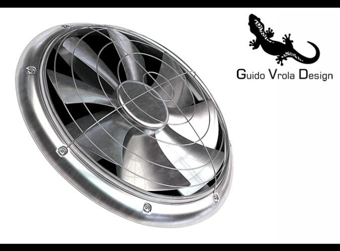 Cooler fan3D model