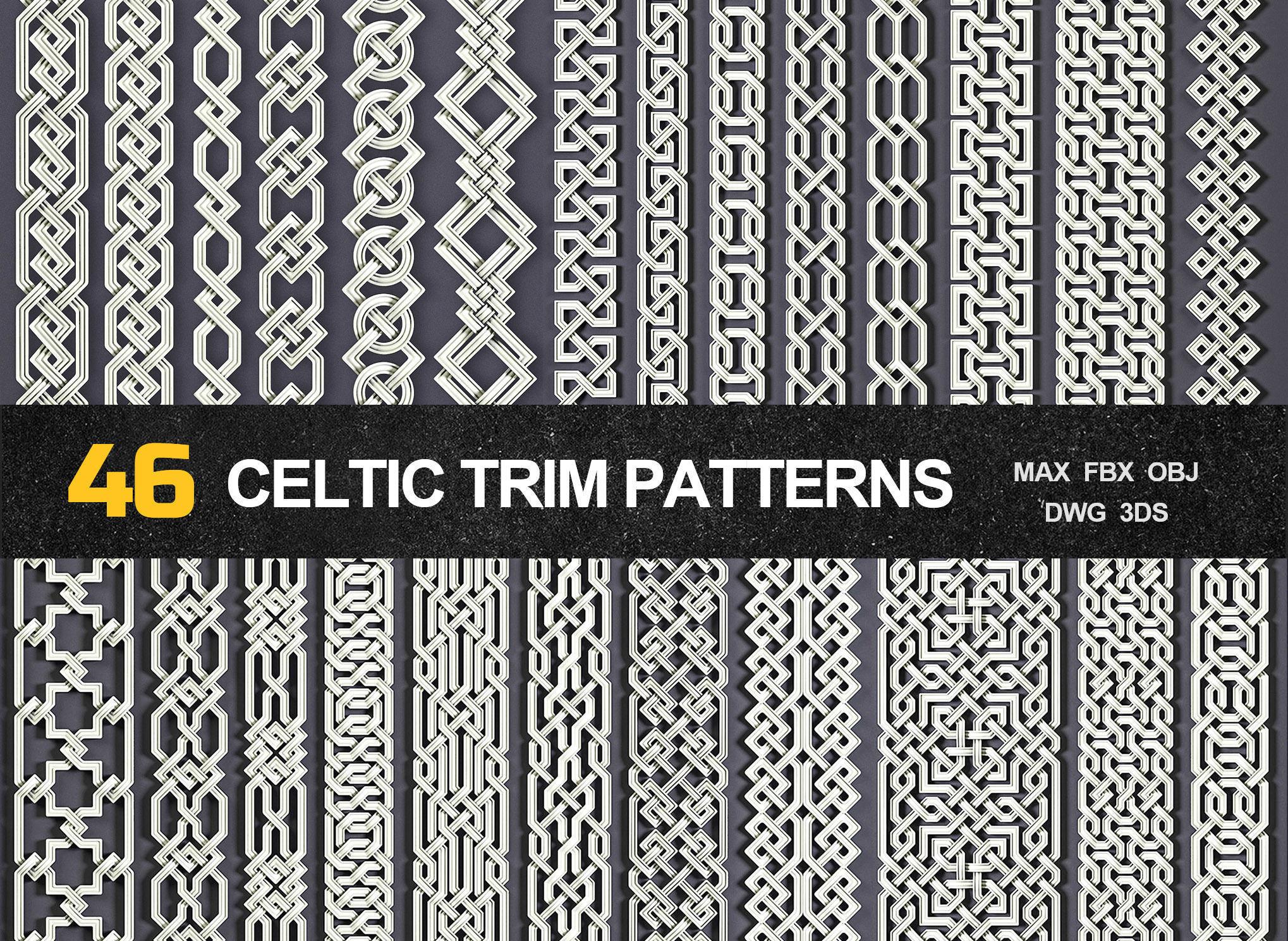 46 Celtic Trim Patterns