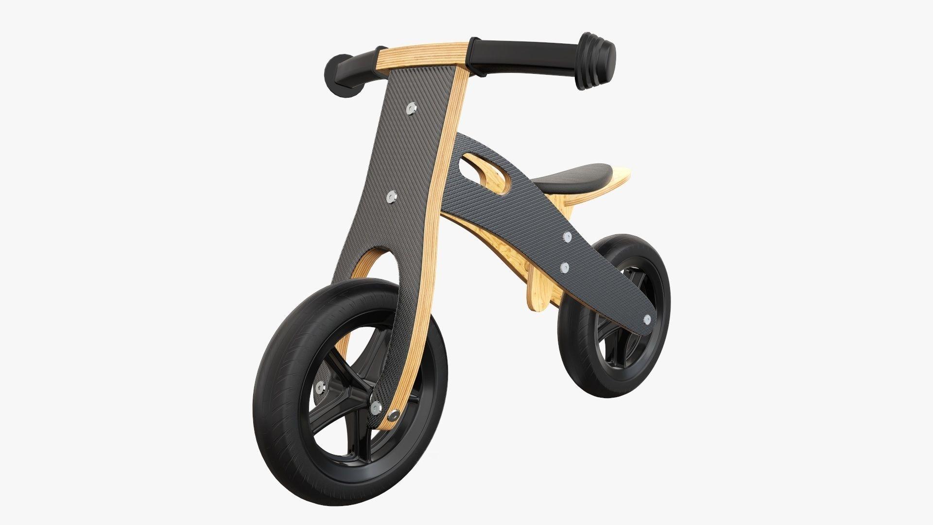Balance bike for kids wooden