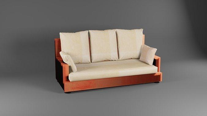 Low poly Sofa