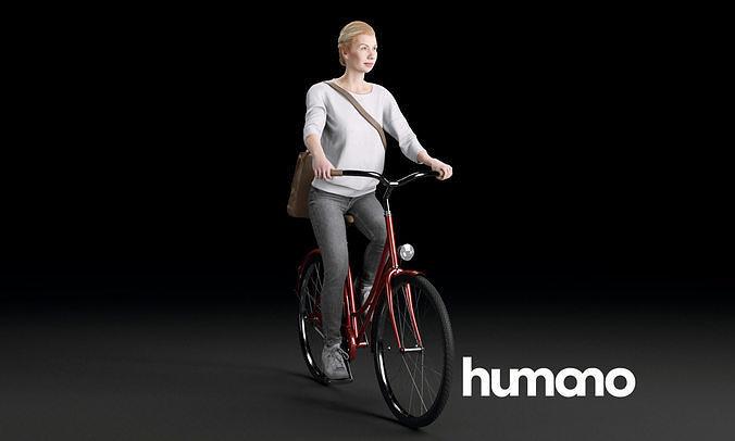 Humano Biking Woman 0704