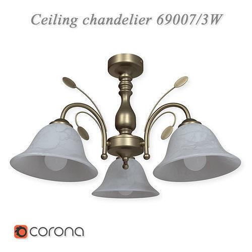 Ceiling chandelier 69007 - 3W