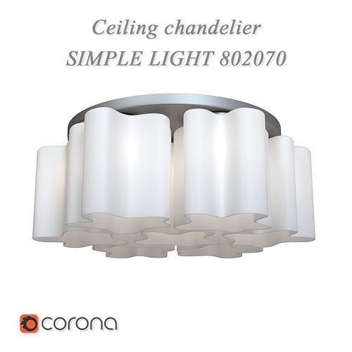 Ceiling chandelier SIMPLE LIGHT 802070