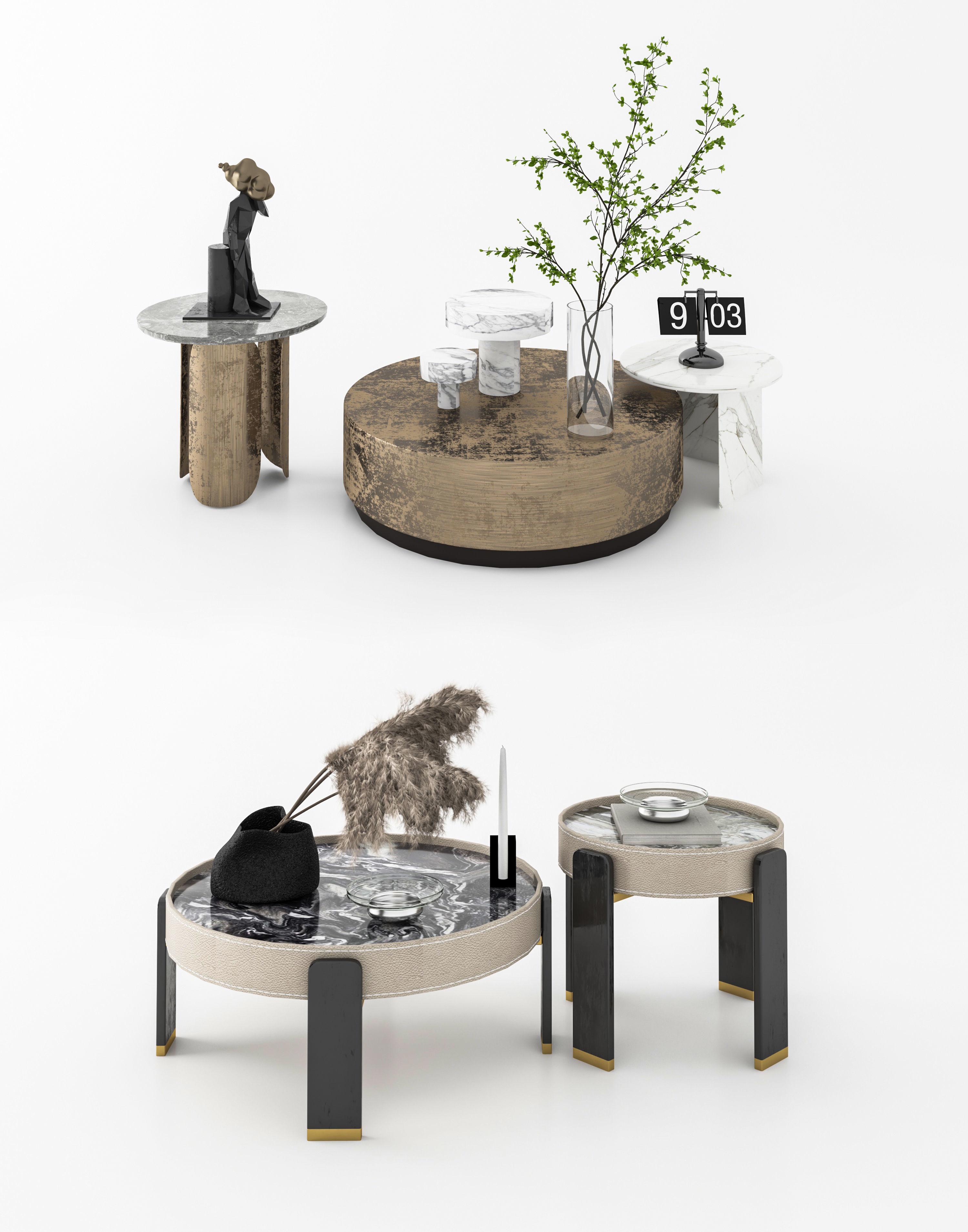 Modern tea table combination