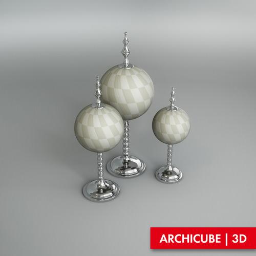 Eichholtz Objects Leonardo Set3D model