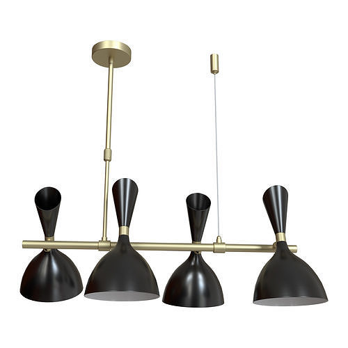 Hanging chandelier Rasto 4665 - 4