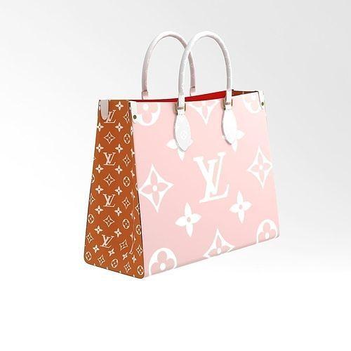 Louis Vuitton Leather Bag 3