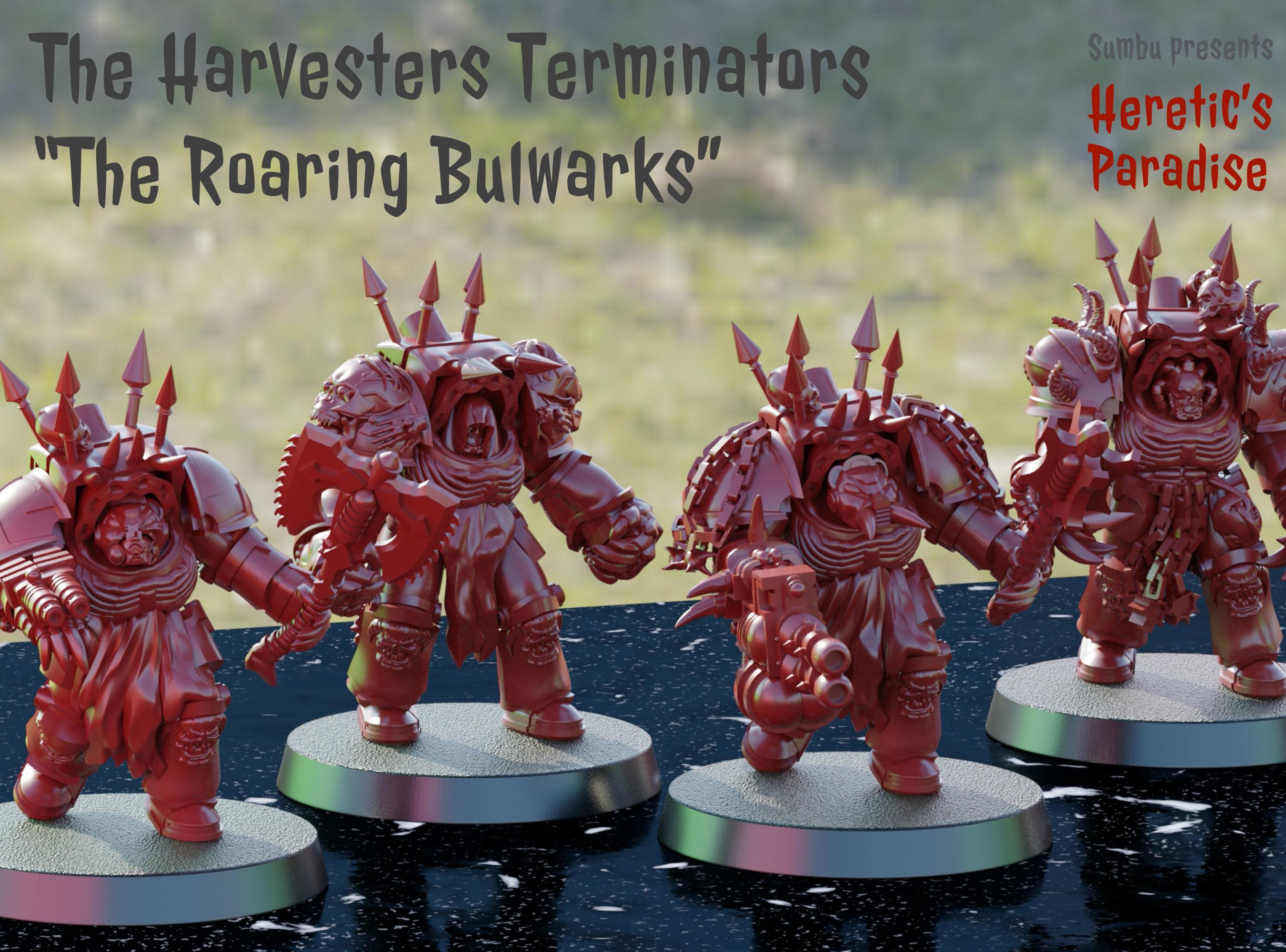The Harvesters - Roaring Bulwark - Bruins Pattern Terminators