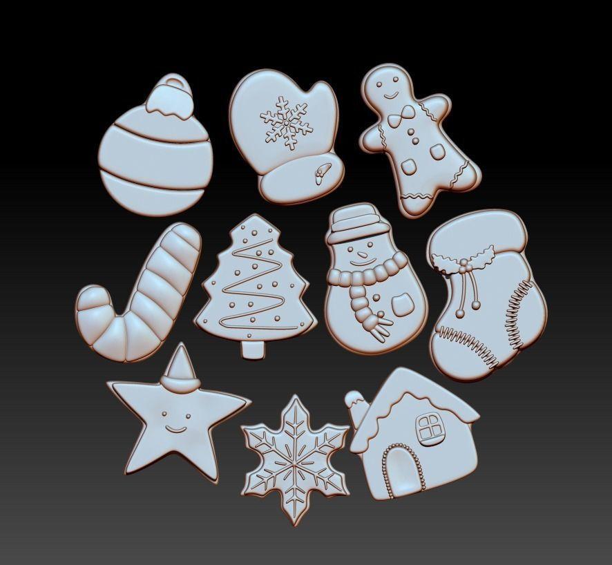 Christmas Cookies For Decor