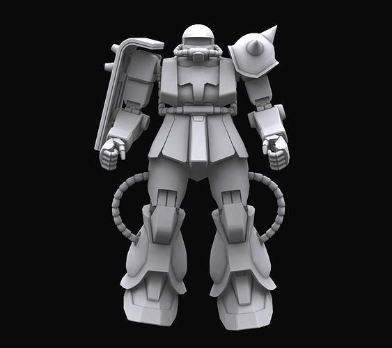 Gundam mobile suit MS06J model