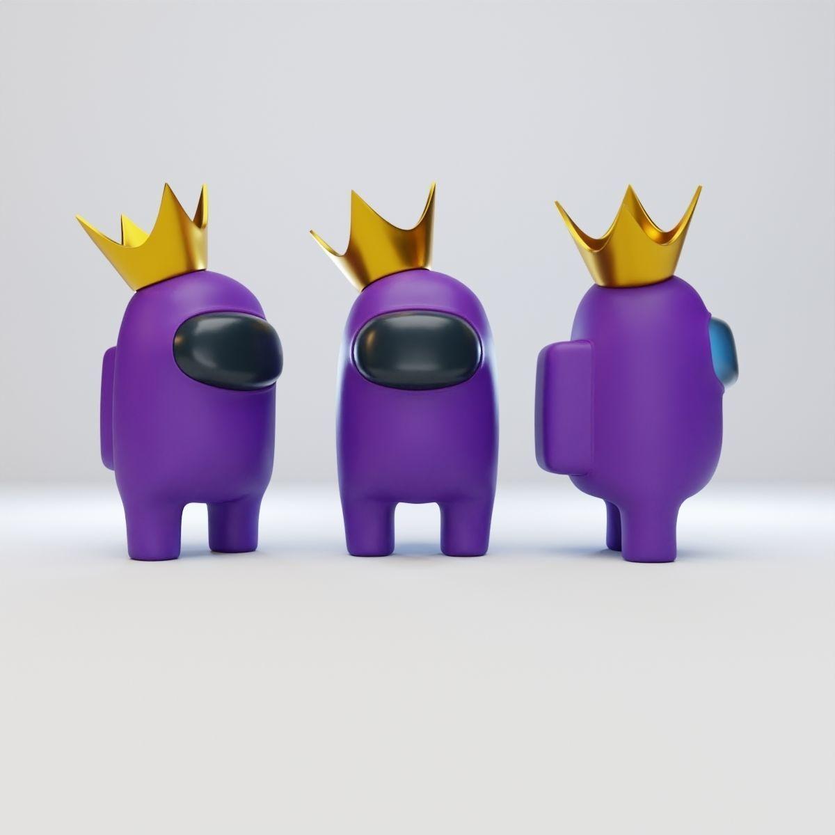 Among Us Crown Character