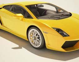 3D model Lamborghini Gallardo - Extremely HQ